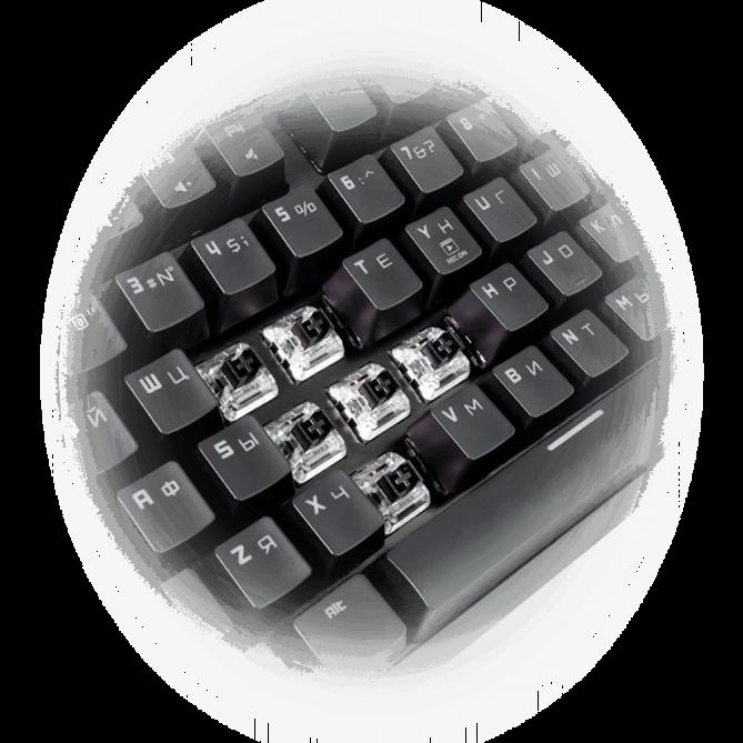 Rockfall EVO TKL Optical Kailh USB - изображение 3